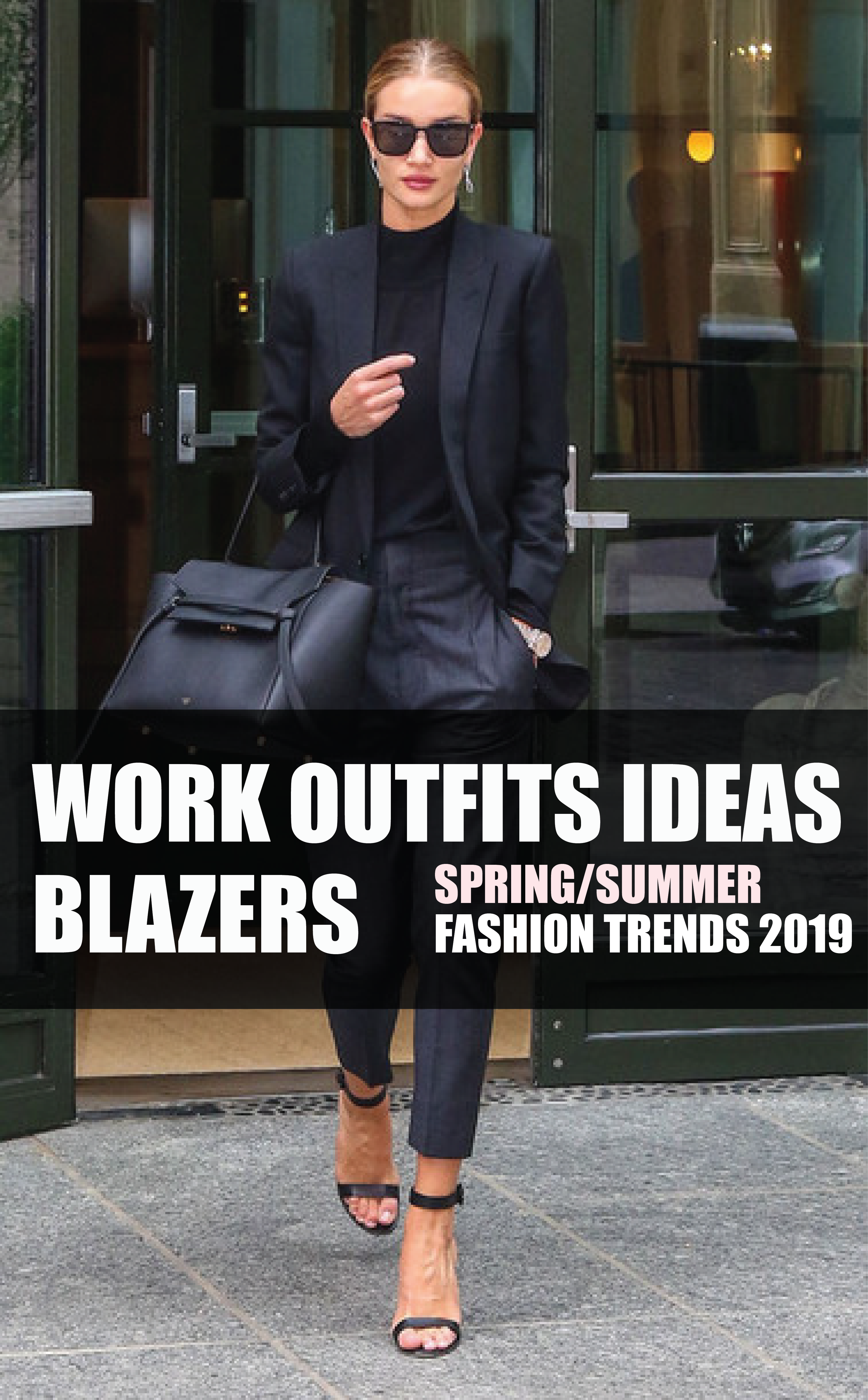 Spring Work Outfit Trends Blazers