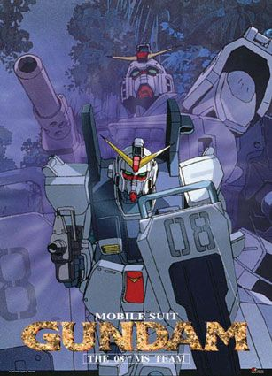 Mobile Suit Gundam The 08th Ms Team Ms Teams Gundam Manga Characters