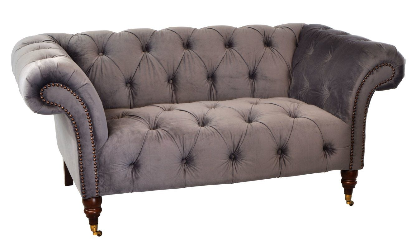 Baggott 2 Seater Chesterfield Sofa | Chesterfield sofa