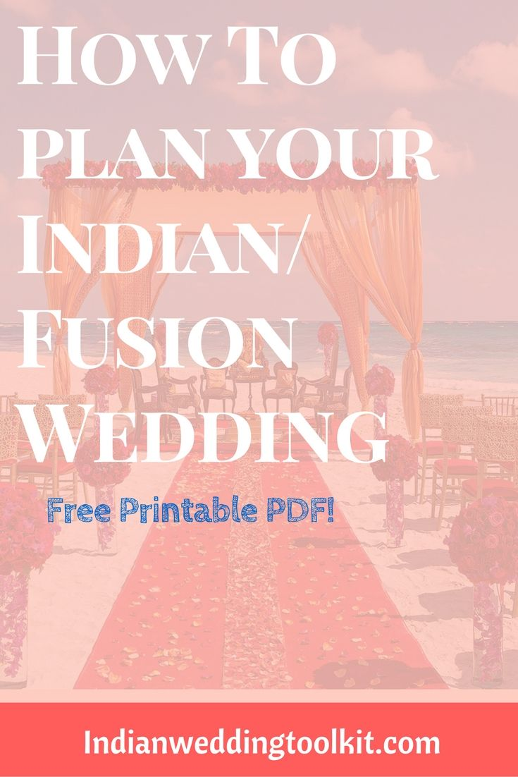 Free Indian Wedding Planning Guide: 50+ Tips & Tricks | Indian ...