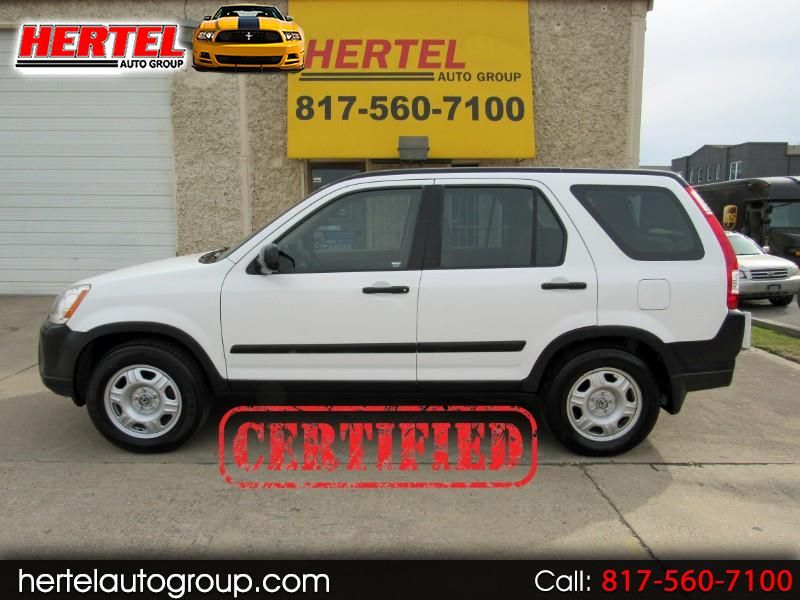 Certified 2006 Honda Cr V Lx For Sale Used Suv Used Cars Honda Cr