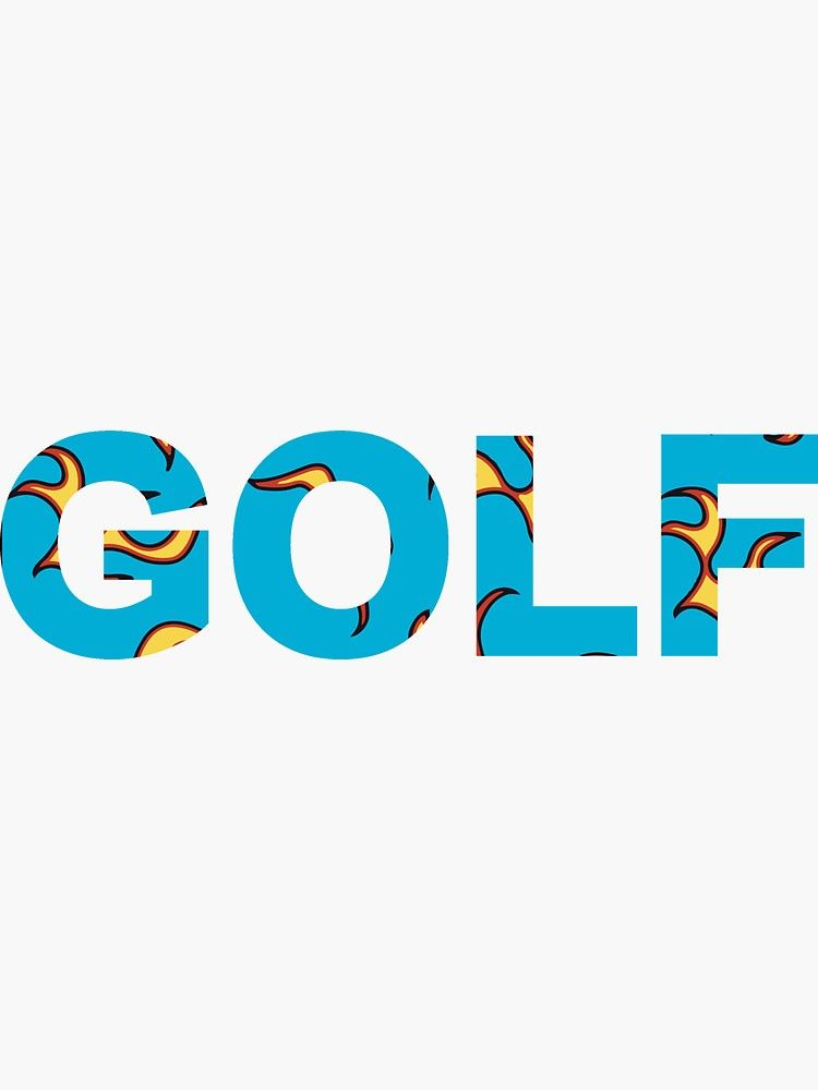 GOLF FLAME Tyler The Creator Sticker in 2020 Tyler