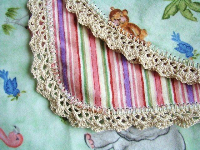 scalloped edgings pattern crochet | Free Crochet Pattern - Baby ...