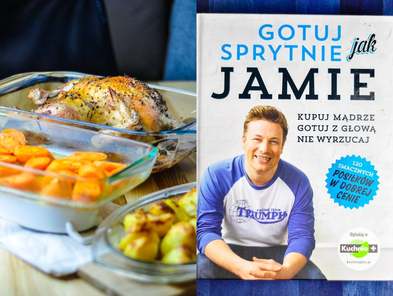 Pieczony Kurczak Z Tego Przepisu To Wedlug Mnie Jeden Z Najlepszych Dan Na Niedzielny Obiad Recepture Znalazlam W Ksiazce Jamie Go Oli Food Vegetables Chicken