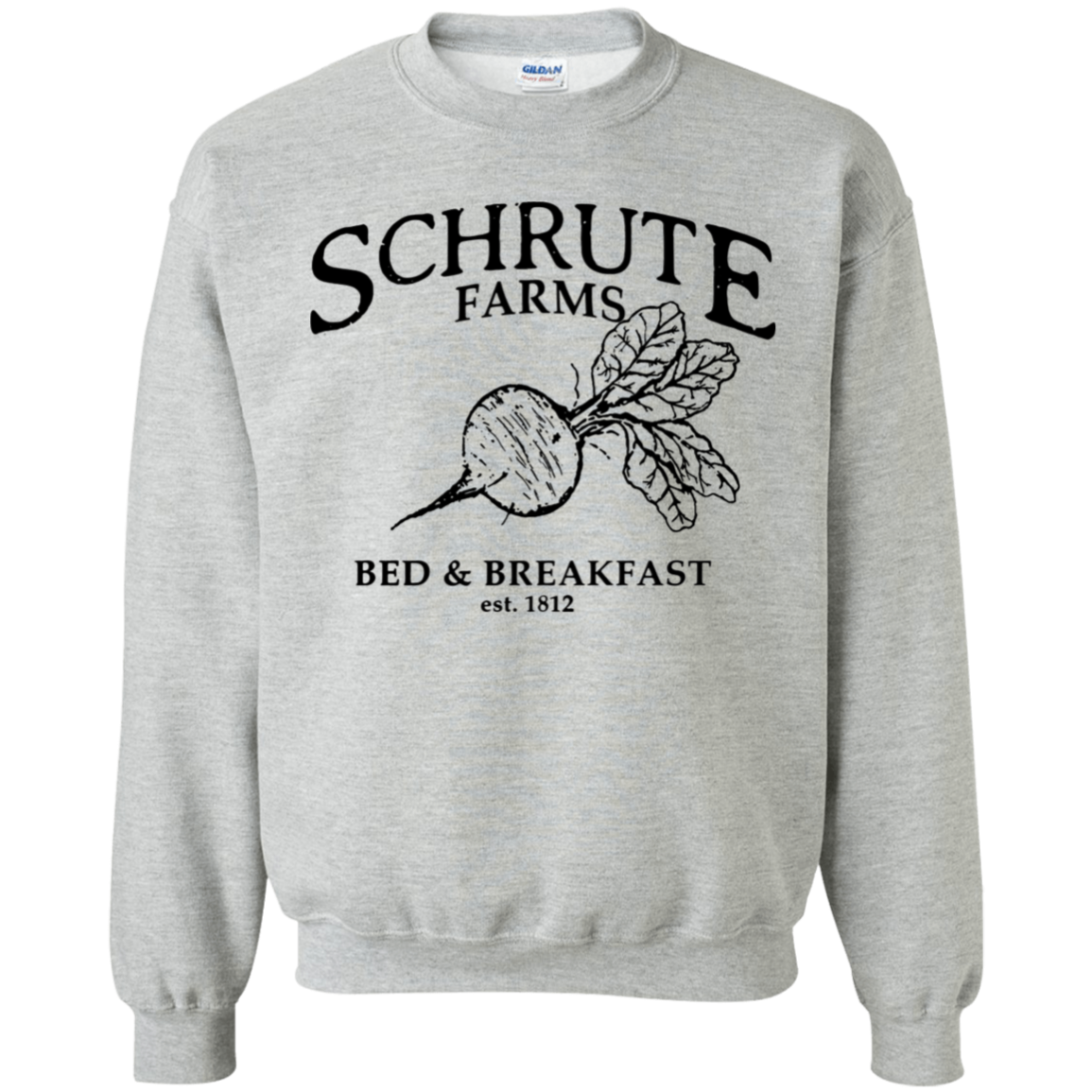 Predownload: Schrute Farms Bed And Breakfast Est 1812 Sweater Schrute Farms Bed And Breakfast Sweaters [ 1155 x 1155 Pixel ]
