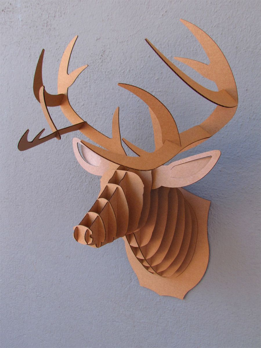 Junior hallway ideas  Deer wall mount from Red in Fred Kaitlyn Brown  decor  Pinterest