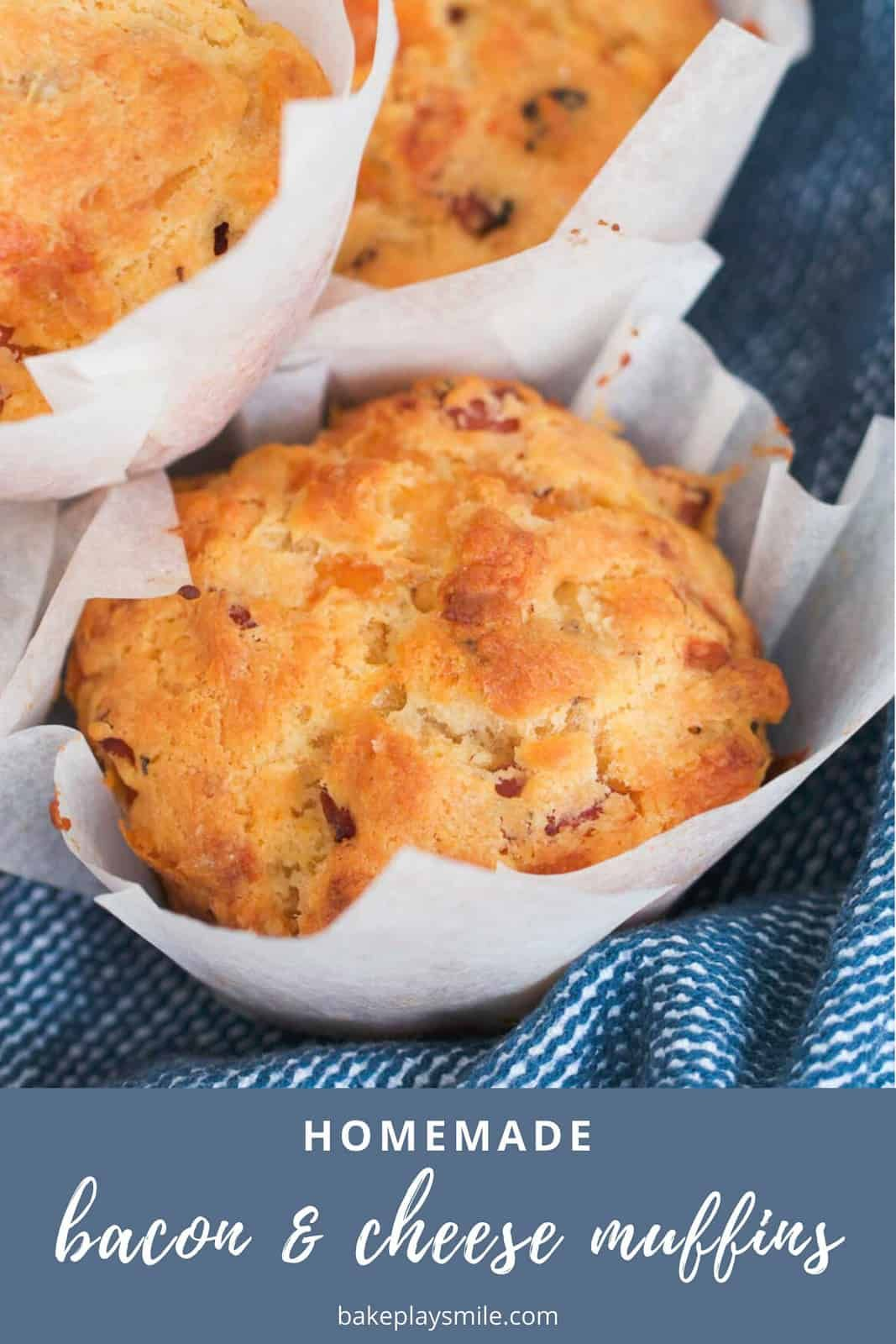 Bacon Cheese Muffins Recipe In 2020 Savory Muffins Recipes Recipes Bacon Muffins