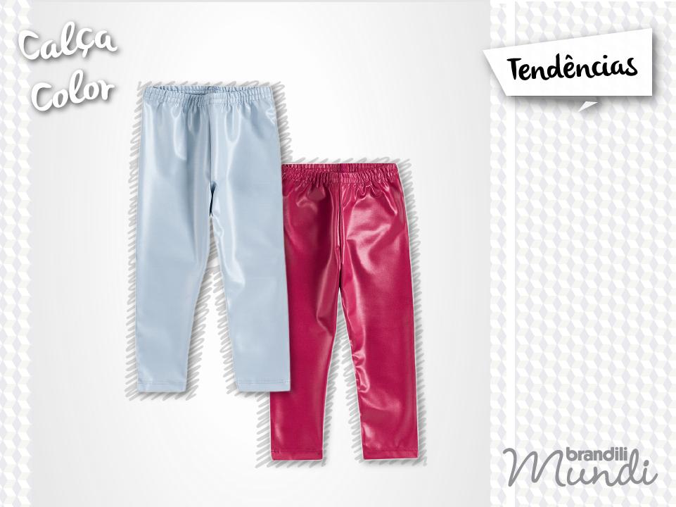 Olha só essas calças infantis coloridas! Sua pequena fashionista vai fazer o maior sucesso nesse inverno. #temqueter #fashionkidsMundi