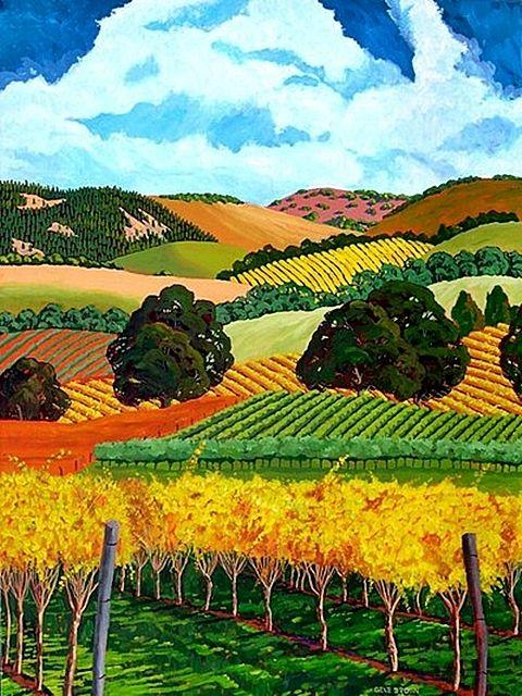 Gene Brown In 2019 Landscape Art Landscape Paintings