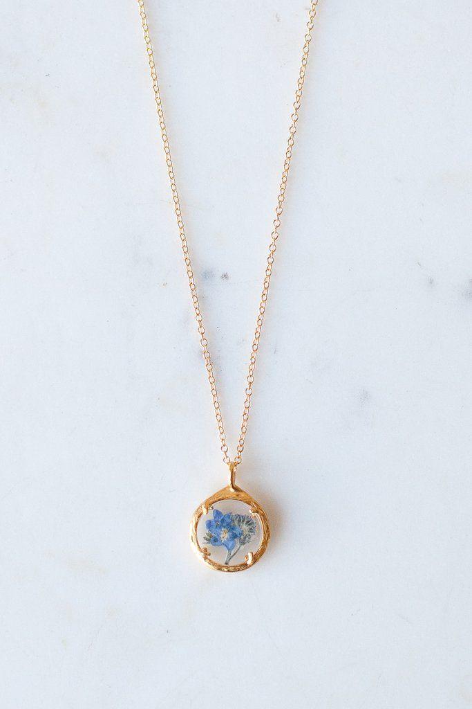 Mini Botanical Necklaces – Heirloom Art Co.