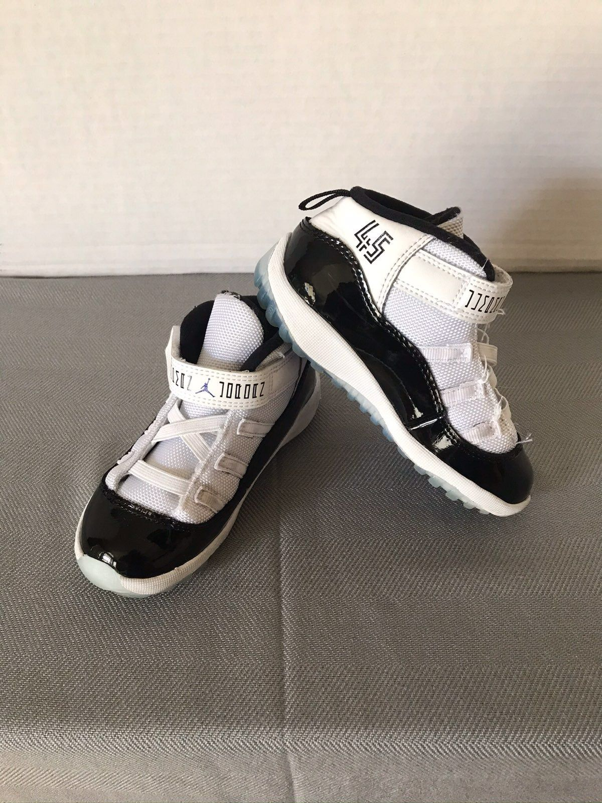 Used Air Jordan 11 Retro Concords Toddler Size 9C Slight cleaning ...