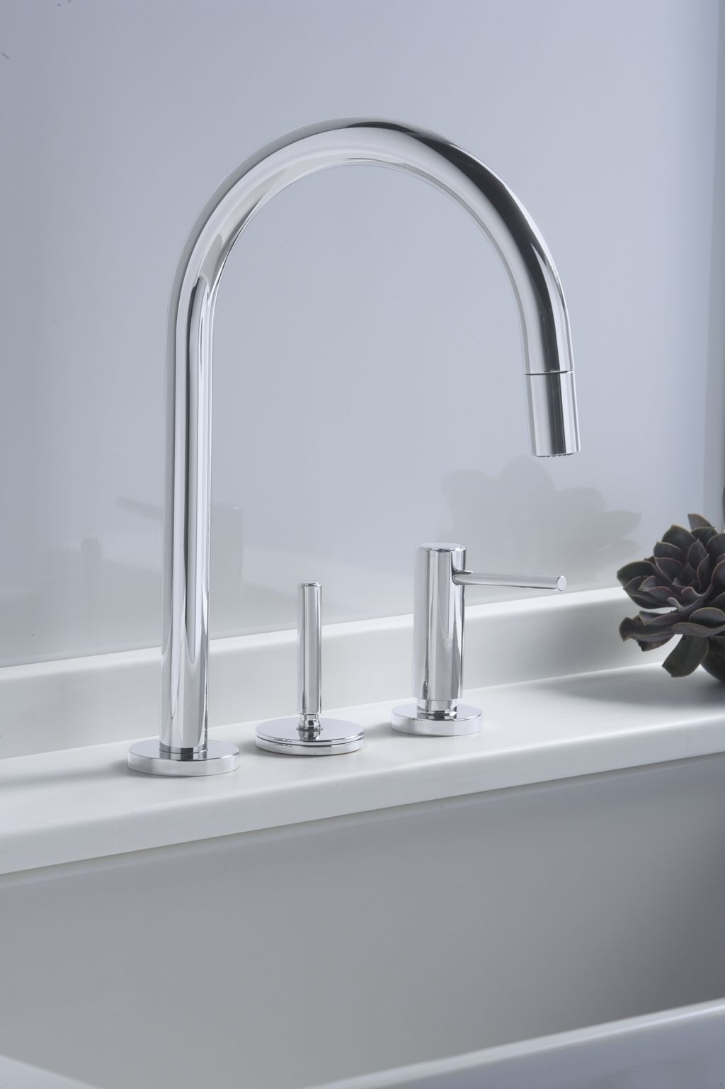 Kallista One Pull-down Kitchen Faucet & Kallista One Pull-down Kitchen Faucet | faucets in 2019 | Faucet ...
