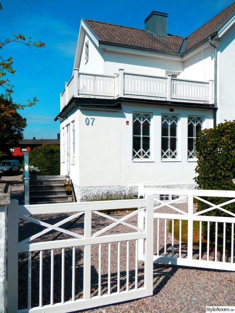 grindar,trappa,balkong,husfasad | Home | Pinterest | Balkong : staket balkong : Staket