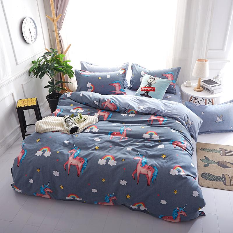 Tiny Unicorn Bed Cover Bed Linen Sets Bed Cover Sets Bedding Sets
