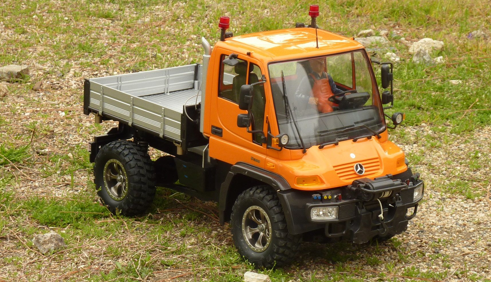 benz unimog u300 cc 01 rc offroad car truck. Black Bedroom Furniture Sets. Home Design Ideas