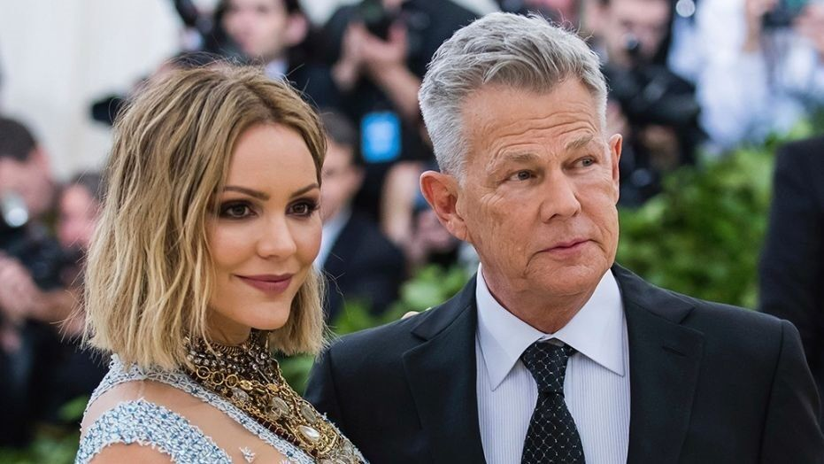 Fox News Katharine Mcphee 35 Pokes Fun At Age Difference To Husband David Foster 70 In Cheeky Twitter Post Engagement News Katharine Mcphee The Fosters