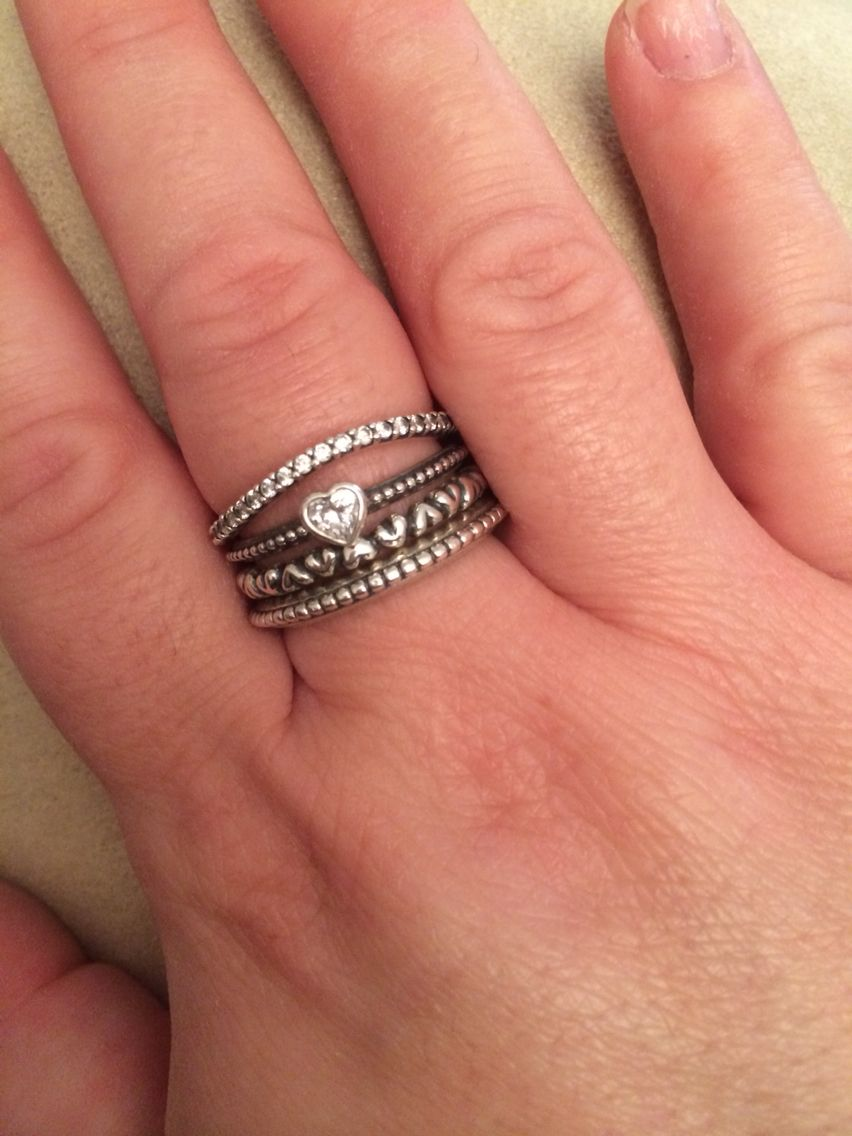 These Pandora stacking rings are so diverse! | Wish list ...