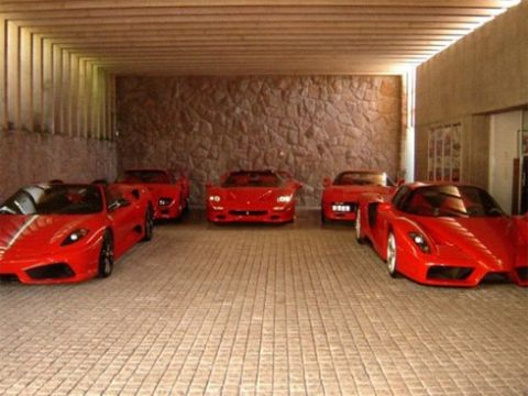 There Are Seven Cars In The Collection Including Ferrari Enzo