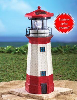 Solar Nautical Lighthouse Statue Solar Lighthouse Garden