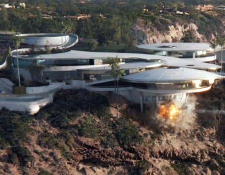 Malibu Mansion IronMan | Tony stark house, Futuristic home ...
