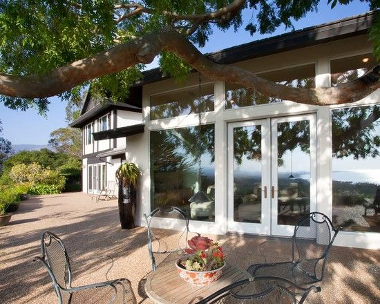 Stunning Modern Home Residence Design : Fabulous Patio Traditional Outdoor Furniture Hope Ranch Residence