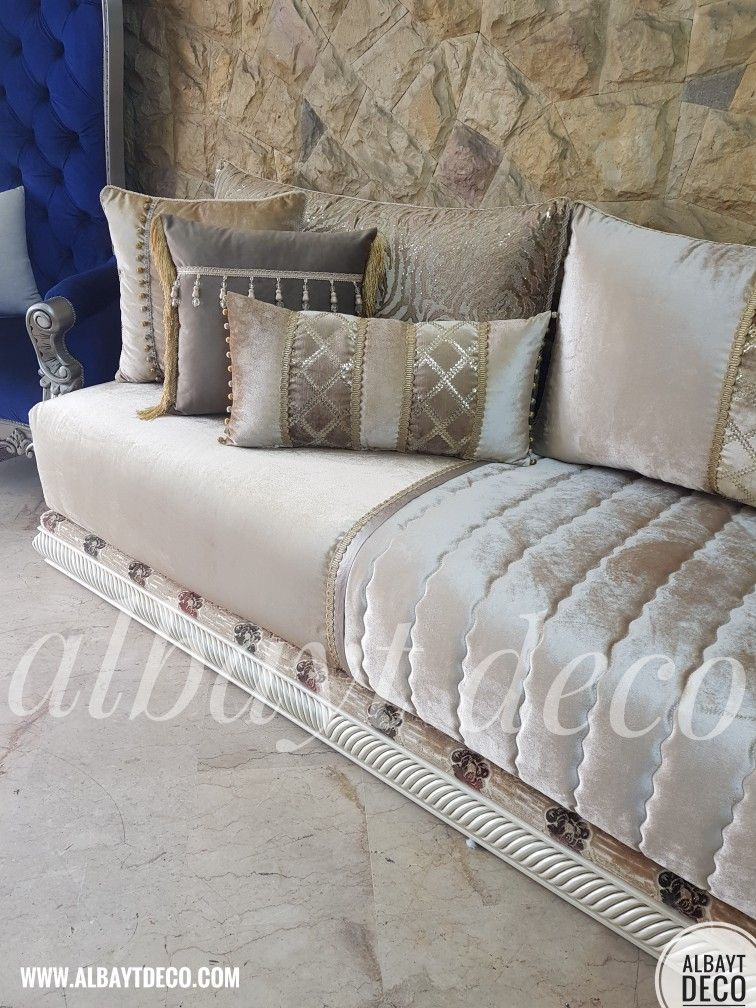 Pin By Doha Mofadi On Salons Marocains Moroccan Home Decor Moroccan Living Room Living Room Decor Apartment