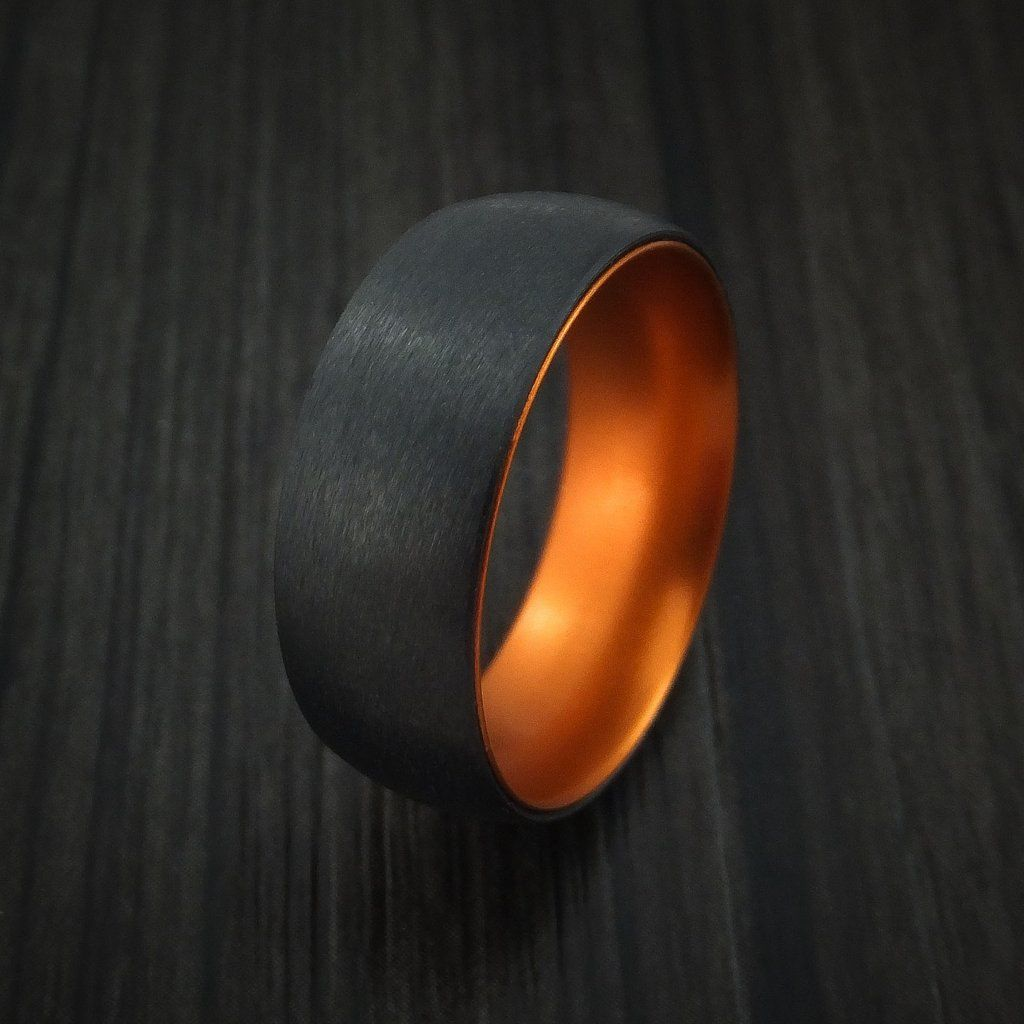 Black Zirconium with Orange Anodized Sleeve Custom Made