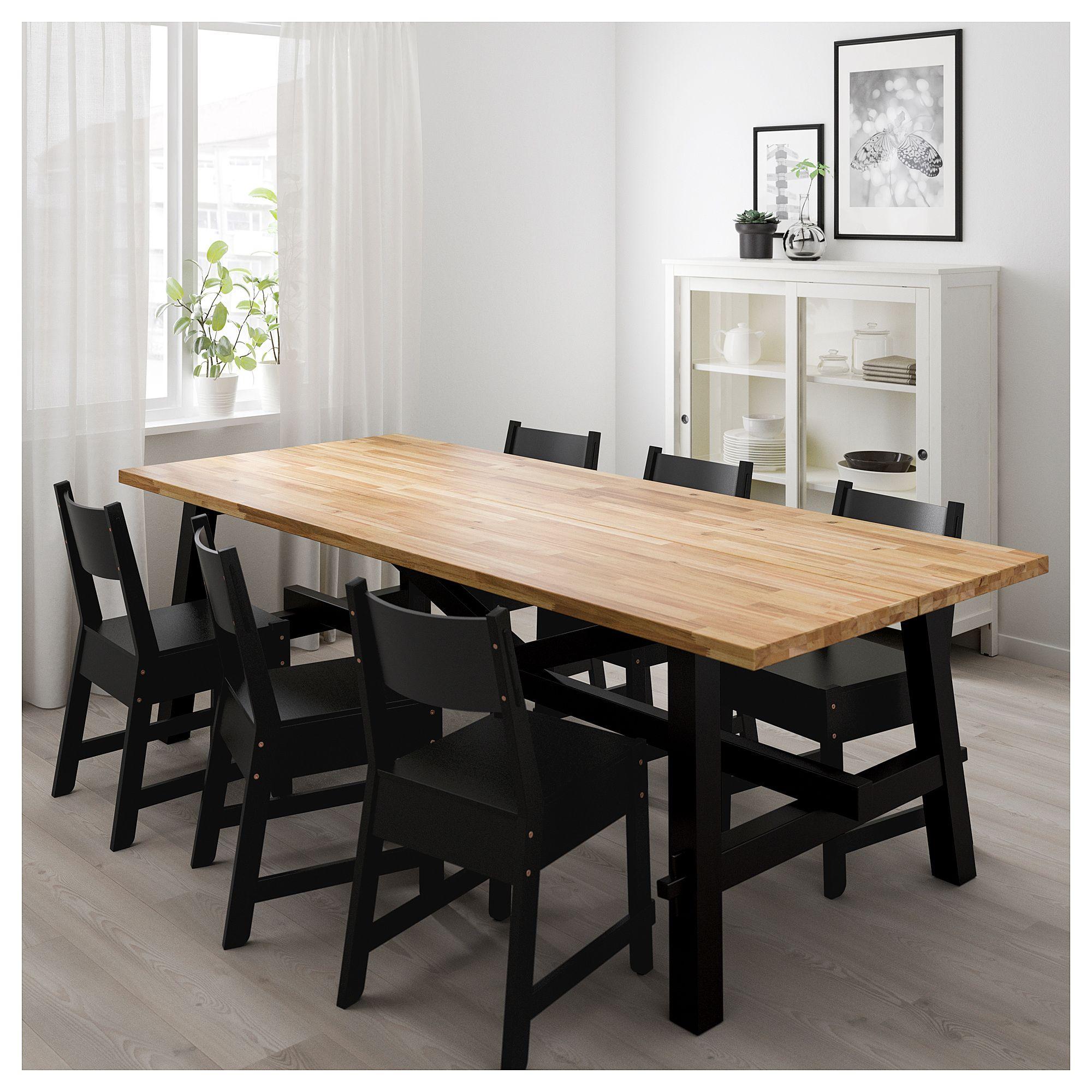 Furniture and Home Furnishings Ikea dining table, Ikea
