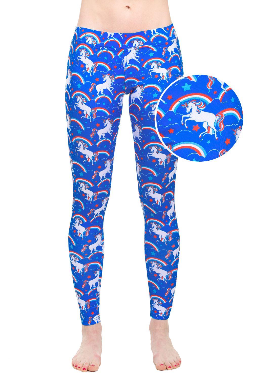 90b12eaafb4bd0 Majestic Unicorn Leggings | clothes | Unicorn leggings, Majestic ...