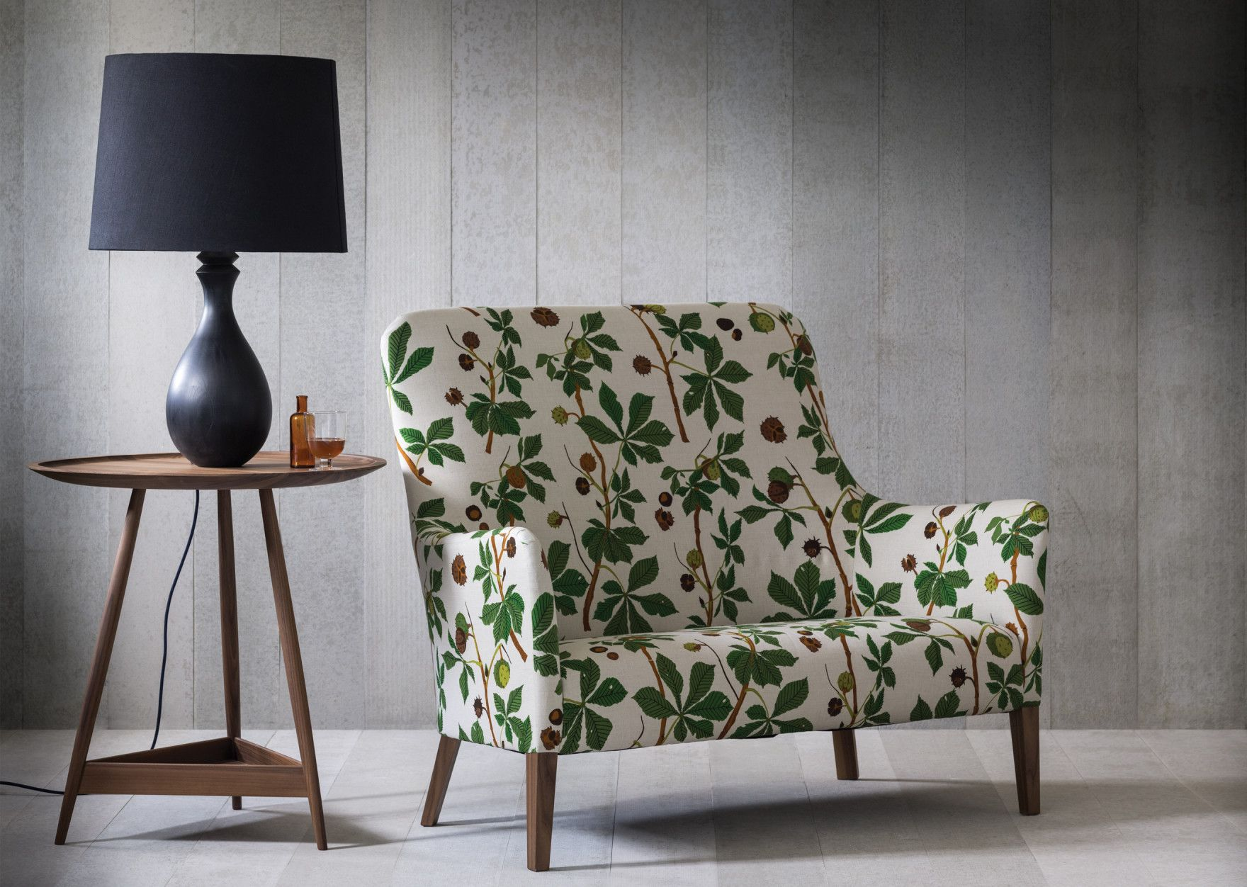 Pendel two seat sofa in floral fabric | Upholstery, Chairs, Benches ...