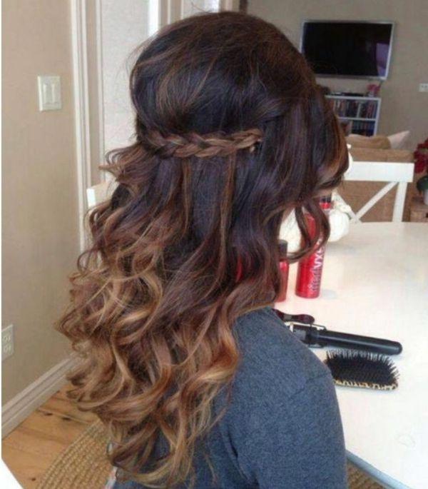 100 coole Bilder von Frisuren für braune Haare! | hair ...
