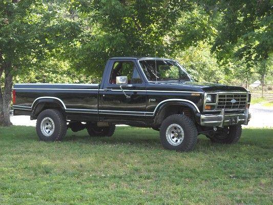 1984 Ford F150 Trucks Ford Trucks Ford Pickup Trucks
