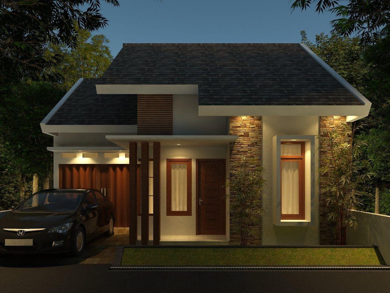 desain rumah minimalis tampak depan 1 lantai | rencana model