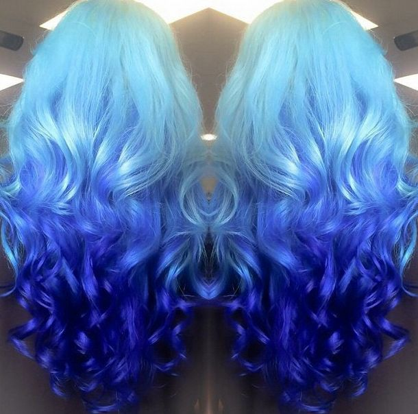 Astonishing Hair Color Combinations Hair Color Blue Hair