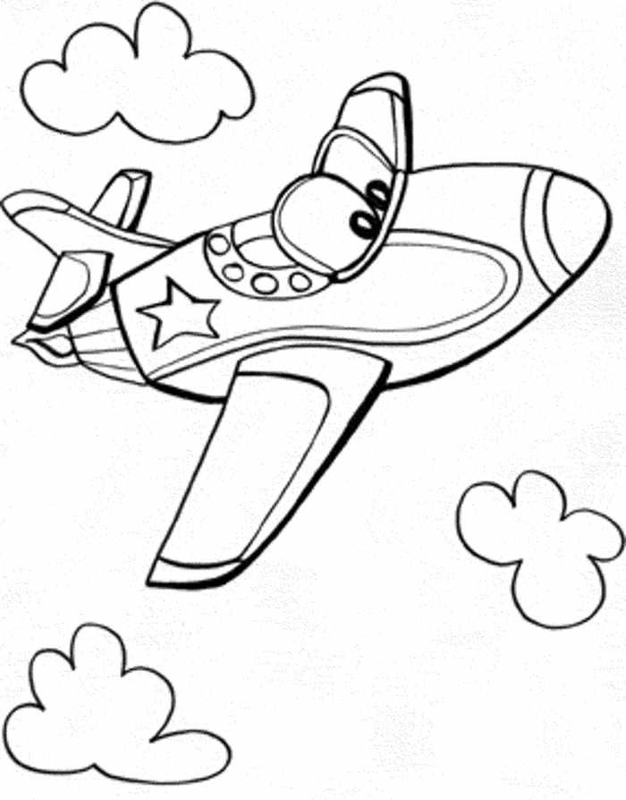Easy Coloring Pages For Kids And Toddler Free Coloring Sheets Airplane Coloring Pages Preschool Coloring Pages Easy Coloring Pages
