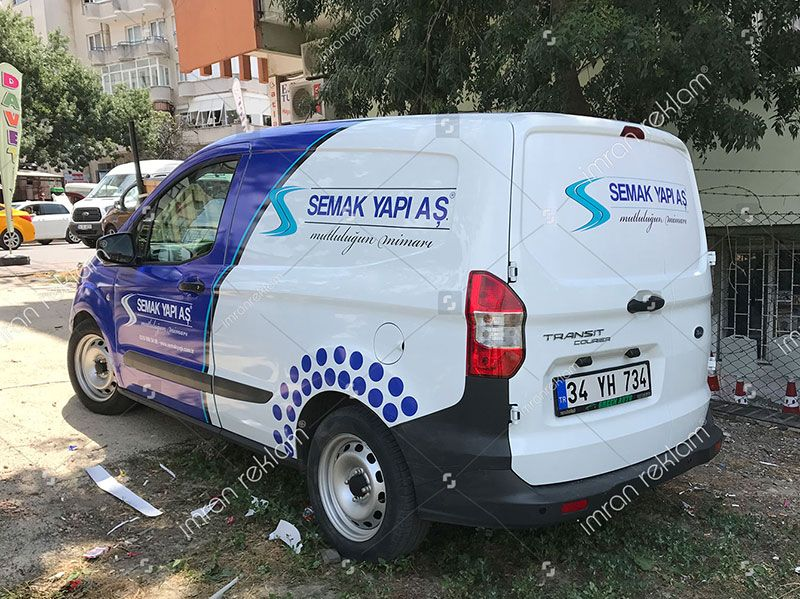 Ford Transit Courier Arac Giydirme Ford Transit Courier Arac