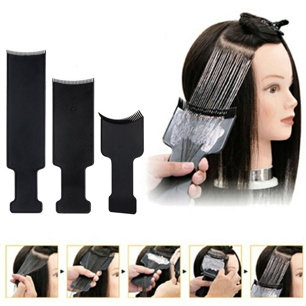 Flat Top Balayage Board Comb Hair Highlighting Sectioning Comb