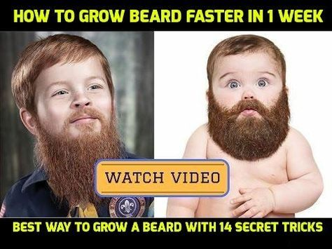 how to make your beard grow evenly