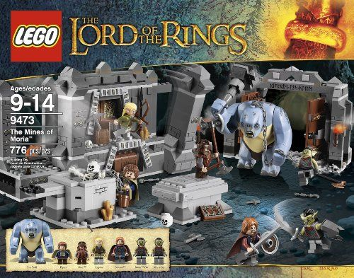 The Hobbit Lego Sets Lord Of The Rings Mines Of Moria