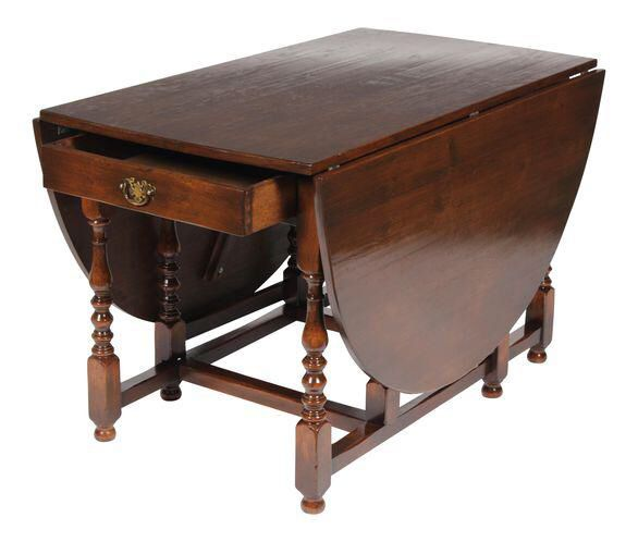1920s English Jacobean Style Gateleg Table On Chairish Com Table Dining Table Antique Table