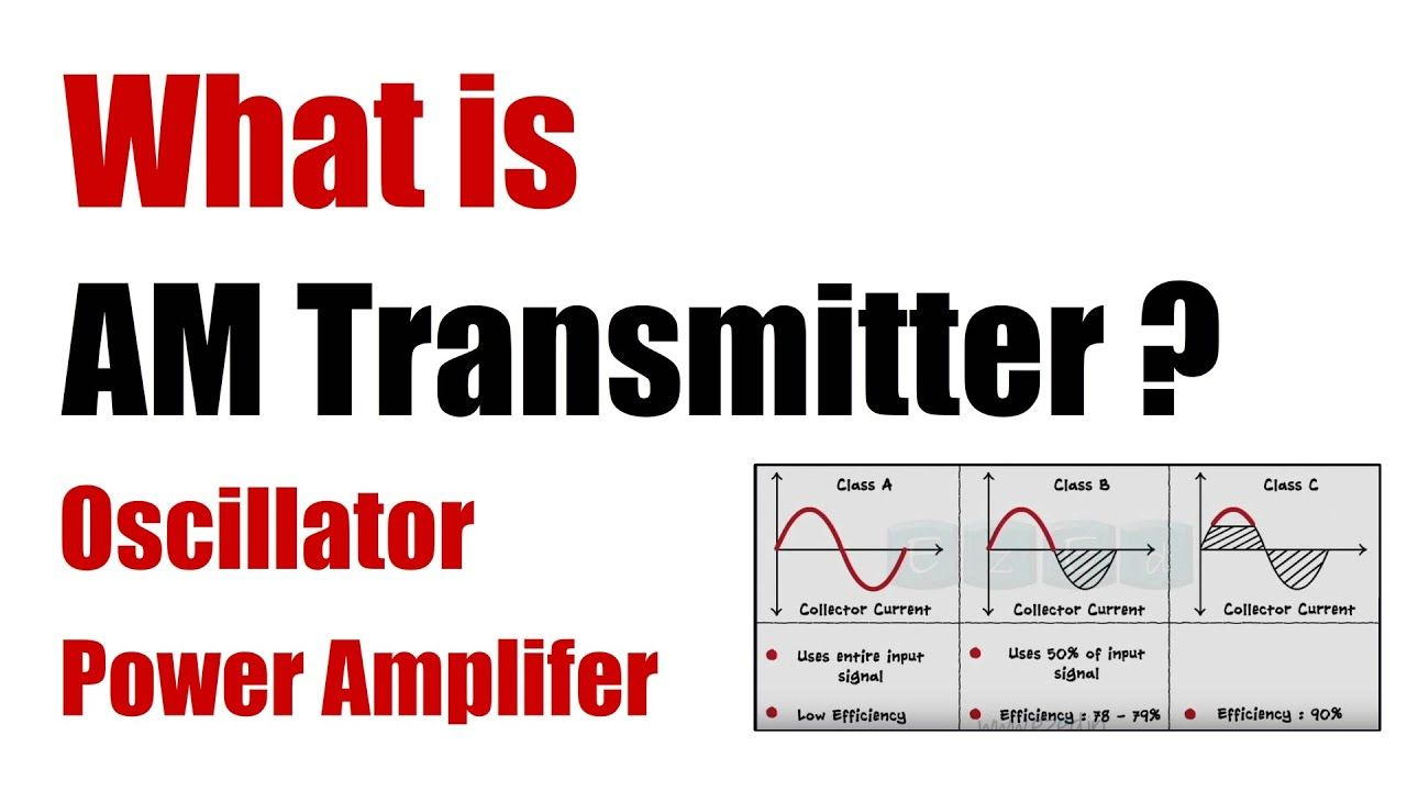 Am Transmitter Power Amplifier Modulation Techniques Bee