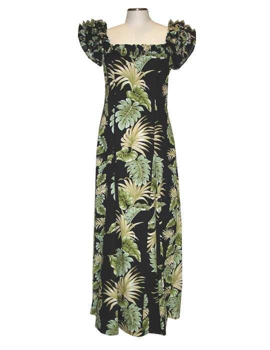 92a28810ba3 Long Muumuu Lei of Aloha Dress