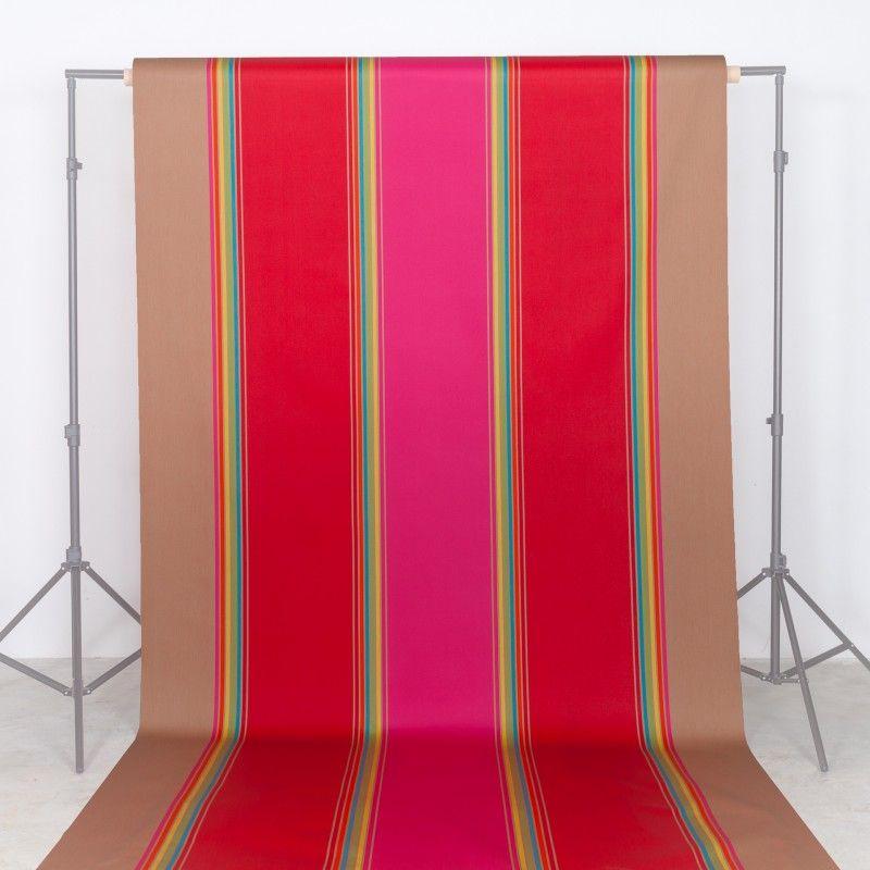 Vente en ligne tissu basque toile enduite grande largeur au mètre ...