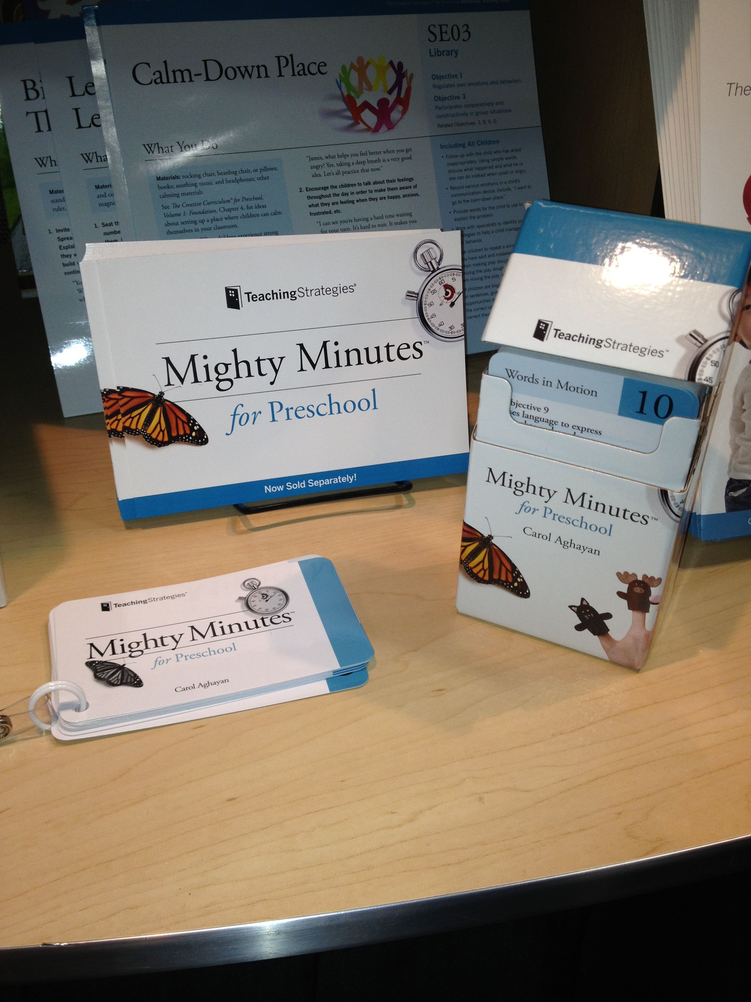 Our Mighty Minutes from The Creative Curriculum for ...