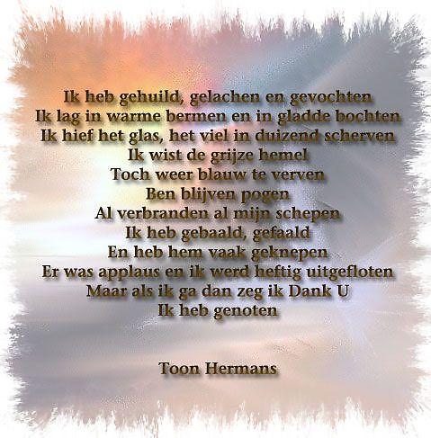 Uitgelezene Toon hermans   Woorden, Gedichten AB-17