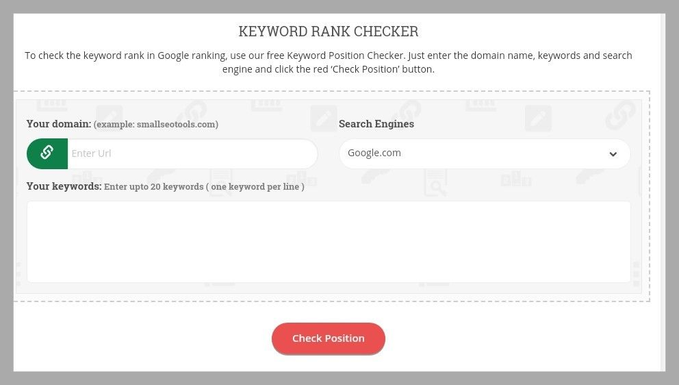 Keyword Position Checker Keyword Ranking Positivity Seo