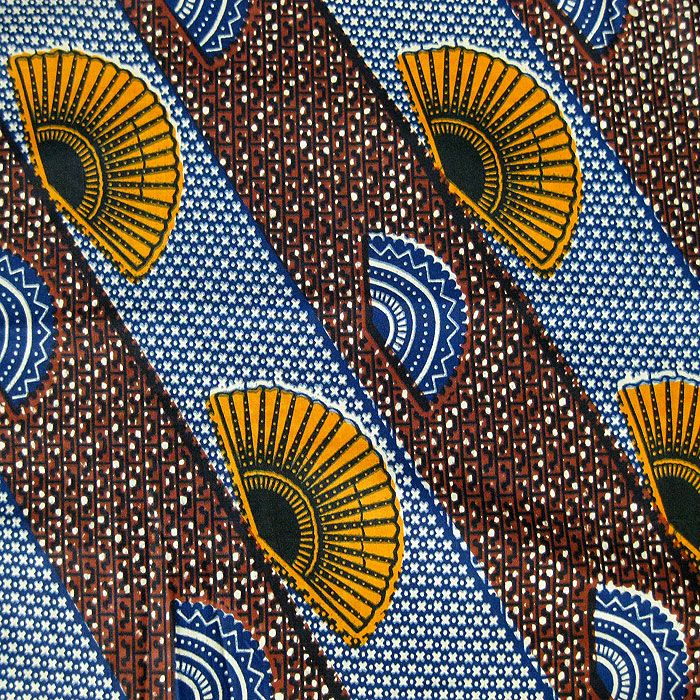 Ghana Fair Trade: Wax Print #109
