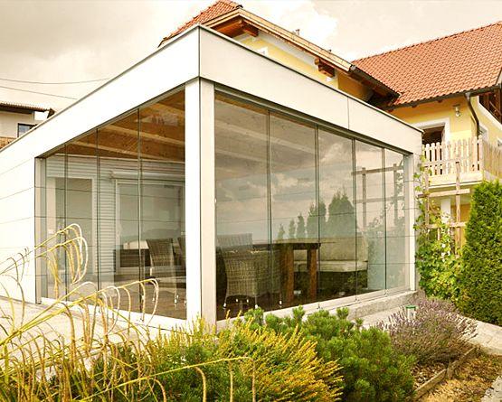 Wintergarten, Balkonverbau, Verglasung & Ganzglaselemente