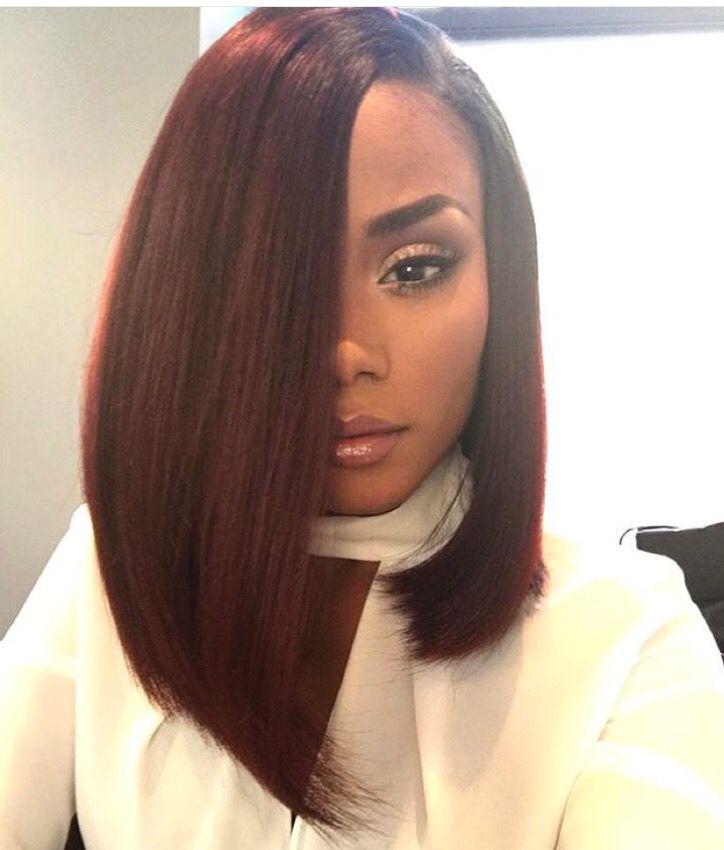 Dark Red Bob Hair Styles Womens Hairstyles Bob Hairstyles