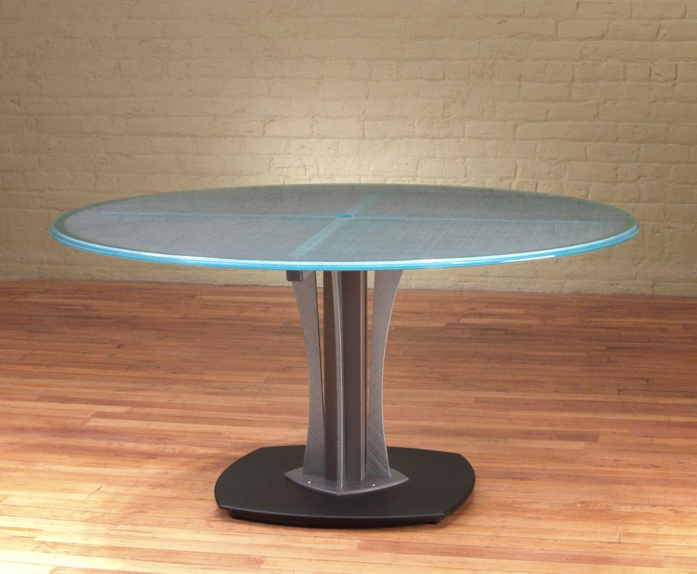 3+ Modern Round Conference Table - Best Paint for Furniture
